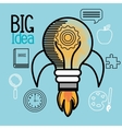 big idea design vector image