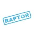 Raptor Rubber Stamp vector image