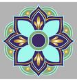 a floral mandala vector image