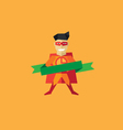 Pizza Man logo vector image