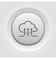 Online Cloud Services Icon vector image