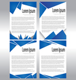 Abstract Document Template vector image