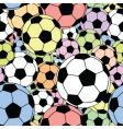football tile vector image