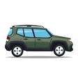 Suv vehicle and transportation design vector image