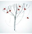 Watercolor frost vector image vector image