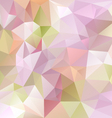 pastel purple colored abstract polygon triangular vector image
