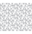 Abstract geometric triangle pattern background vector image