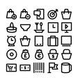 Shopping Icon 7 vector image