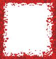 Valentines Day Border vector image