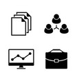 office simple related icons vector image