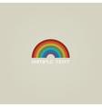 Stylish Rainbow vector image vector image