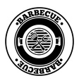 barbecue design vector image