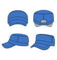 Jeep cap band outlined template vector image