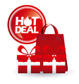 hot deals vector image