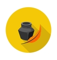 flat icon ink vector image