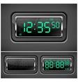 Digital watch vector image