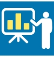 Presentation icon from Business Bicolor Set vector image
