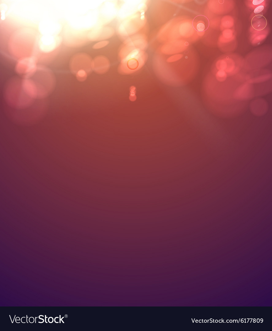 Abstract bokeh vector