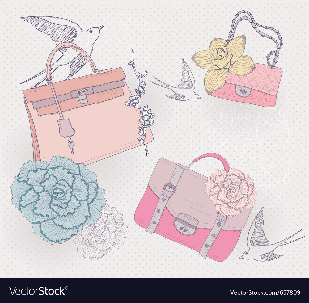 Fashion sketch vector