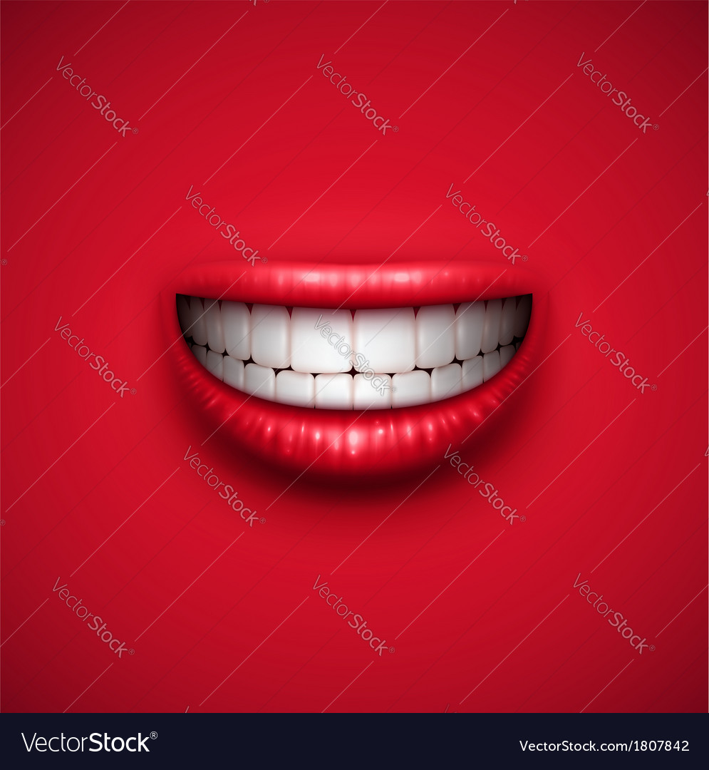 Smile background vector