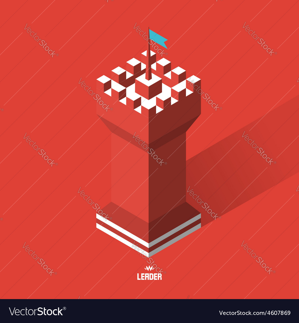 Tower 3d vector
