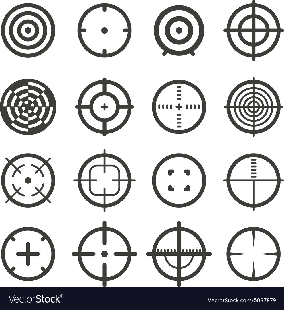Different targets collection vector