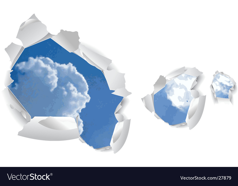 Sky background vector