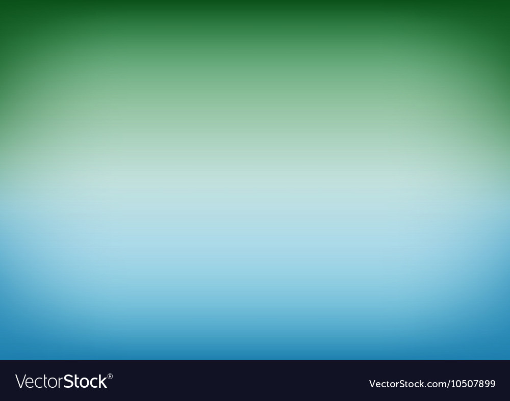 Emerald water gradient background vector