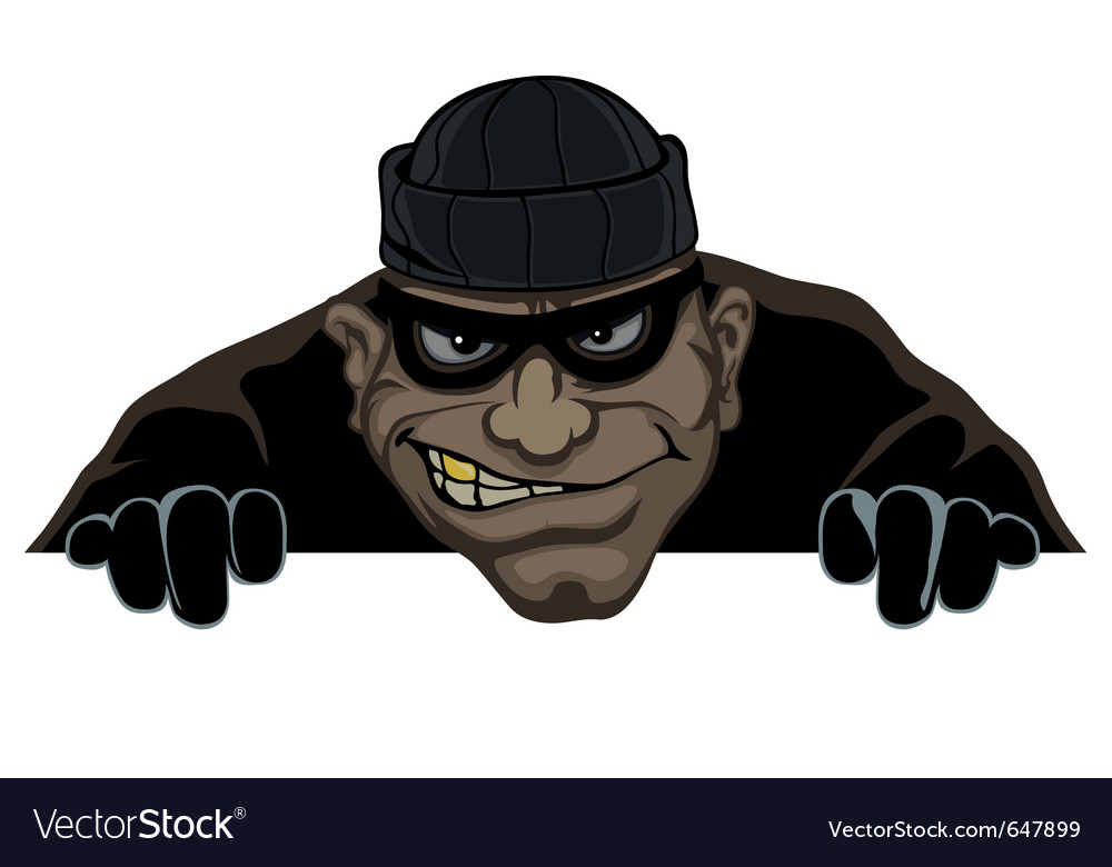 Night thief vector