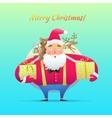 Character Santa Claus vector image