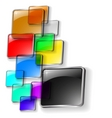 vector abstract color background vector image vector image