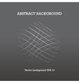 dark grey abstract background vector image vector image