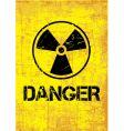 Danger backround vector image