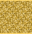 gold glitter background yellow sand texture vector image