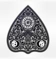hand drawn vintage magic ouija board oracle vector image