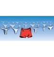 Underwears vector image