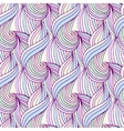 Waves repeating background in pastel colors vector image
