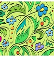 Floral brush background vector image