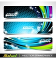 business background templates vector image vector image