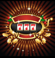 Slot machine vector image