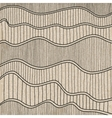 Sketch Wave Abstract Background vector image vector image