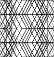 Black and white set of lines pattern vector image