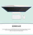 flat style modern design concept of creative vector image