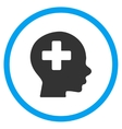Head Medicine Rounded Icon vector image