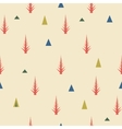 Seamless pattern Old retro minimal background vector image