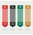 Vertical design template infographics vector image