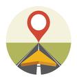 GPS NAVIG3 resize vector image vector image