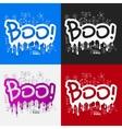 Drawing business formulas boo vector image