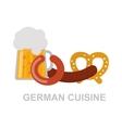 German food vector image