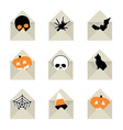 Halloween gifts vector image